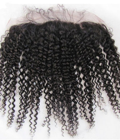 Mink Brazilian Deep Curly Frontal