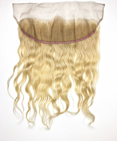 #613 Blonde Indian Wavy Frontal