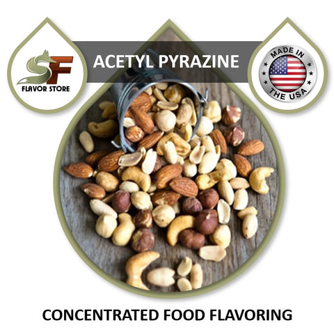 Acetyl Pyrazine Flavor Concentrate 1oz