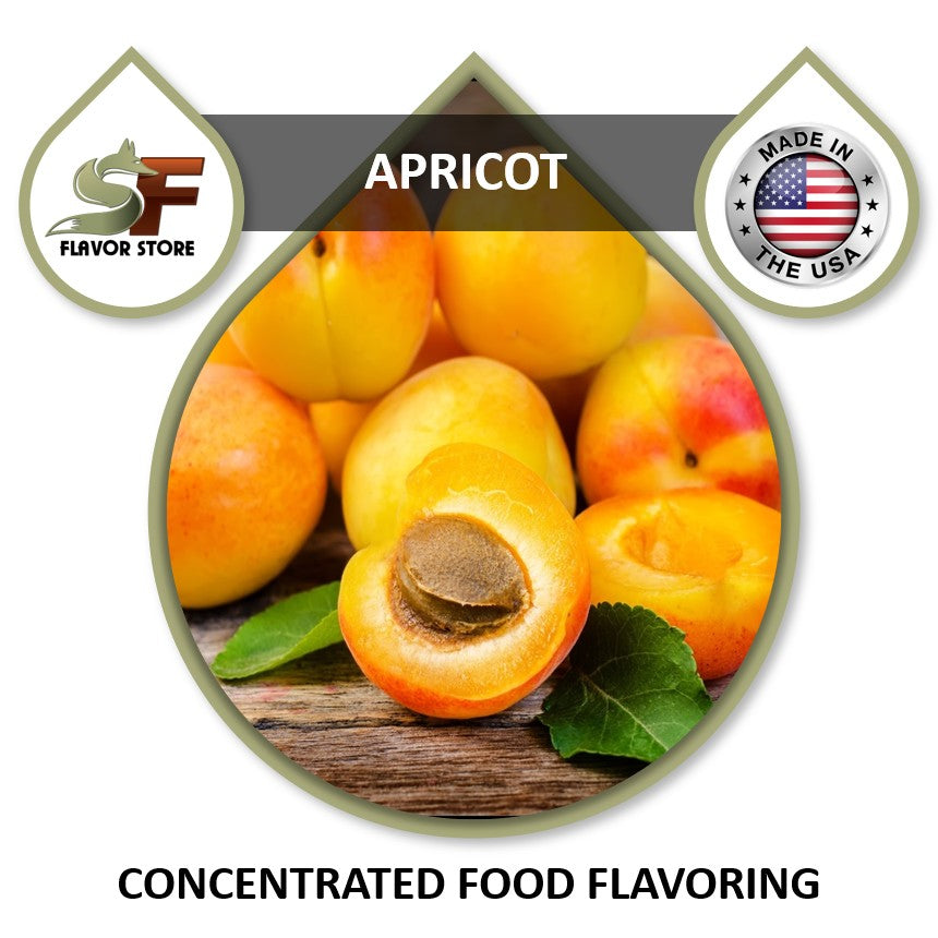 Apricot Flavor Concentrate 1oz