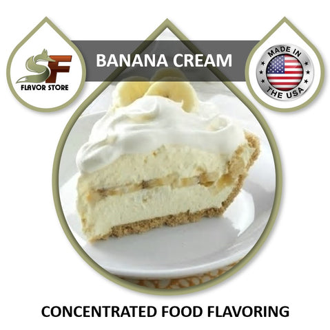 Banana Cream Flavor Concentrate 1oz