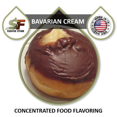 Bavarian Cream Flavor Concentrate 1oz