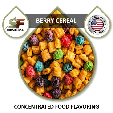 Berry Cereal Flavor Concentrate 1oz