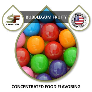 Bubblegum Fruity Flavor Concentrate 1oz