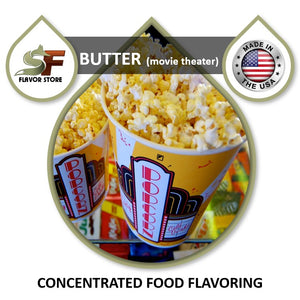 Butter (movie theater) Flavor Concentrate 1oz