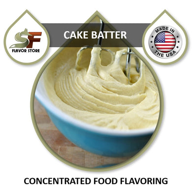 Cake Batter Flavor Concentrate 1oz