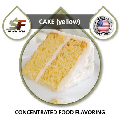 Cake (yellow) Flavor Concentrate 1oz