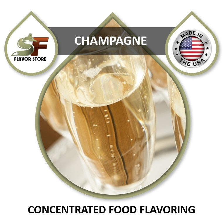 Champagne Flavor Concentrate 1oz