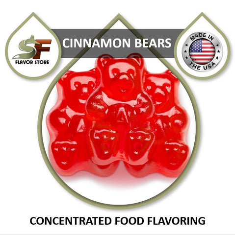 Cinnamon Bears Flavor Concentrate 1oz