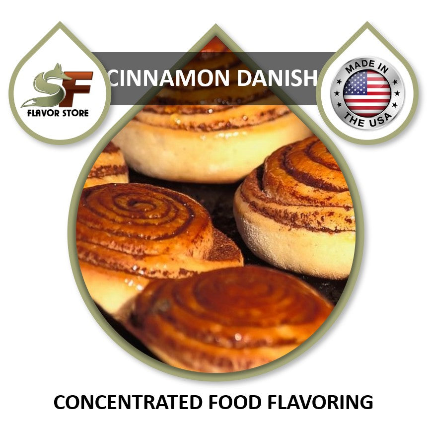 Cinnamon Danish Flavor Concentrate 1oz