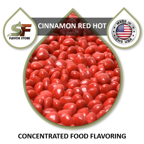 Cinnamon Red Hot Flavor Concentrate 1oz