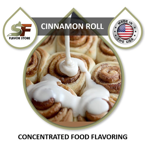 Cinnamon Roll Flavor Concentrate 1oz