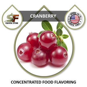 Cranberry Flavor Concentrate 1oz