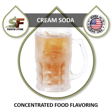 Cream Soda Flavor Concentrate 1oz