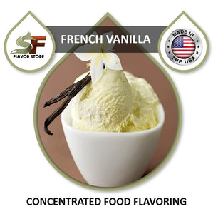 French Vanilla Flavor Concentrate 1oz
