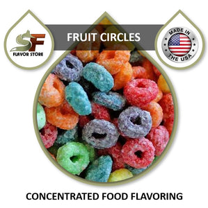 Fruit Circles Flavor Concentrate 1oz
