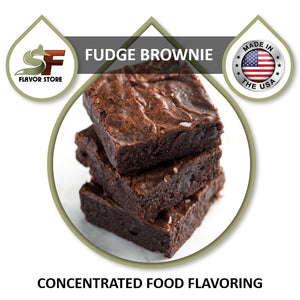 Fudge Brownie Flavor Concentrate 1oz