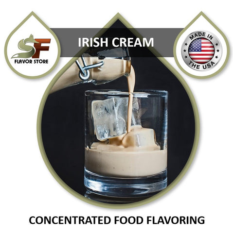 Irish Cream Flavor Concentrate 1oz