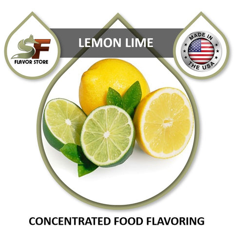 Lemon Lime Flavor Concentrate 1oz