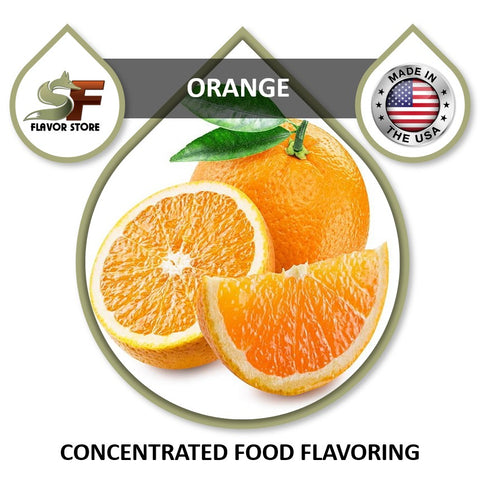 Orange Flavor Concentrate 1oz