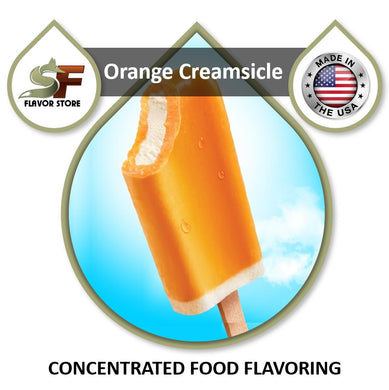 Orange Creamsicle Flavor Concentrate 1oz