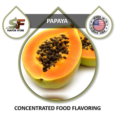 Papaya Flavor Concentrate 1oz