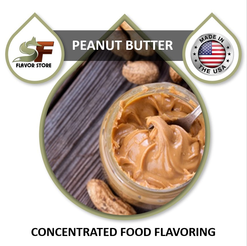 Peanut Butter Flavor Concentrate 1oz
