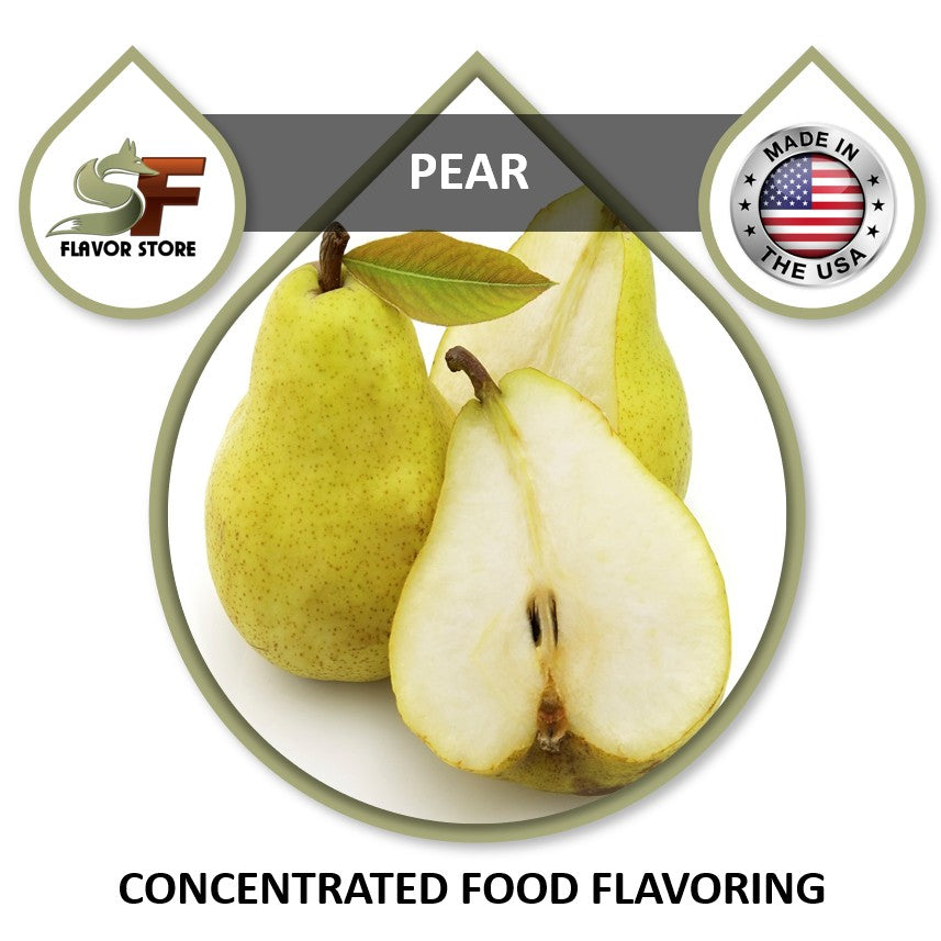 Pear Flavor Concentrate 1oz