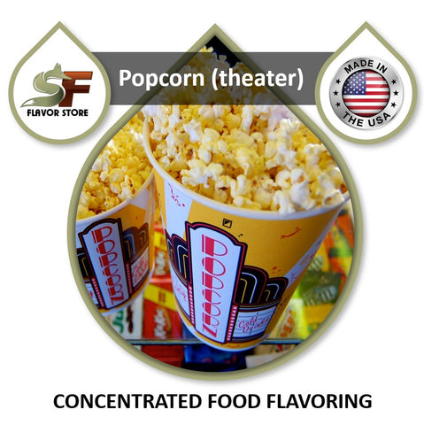 Popcorn - Theater Flavor Concentrate 1oz