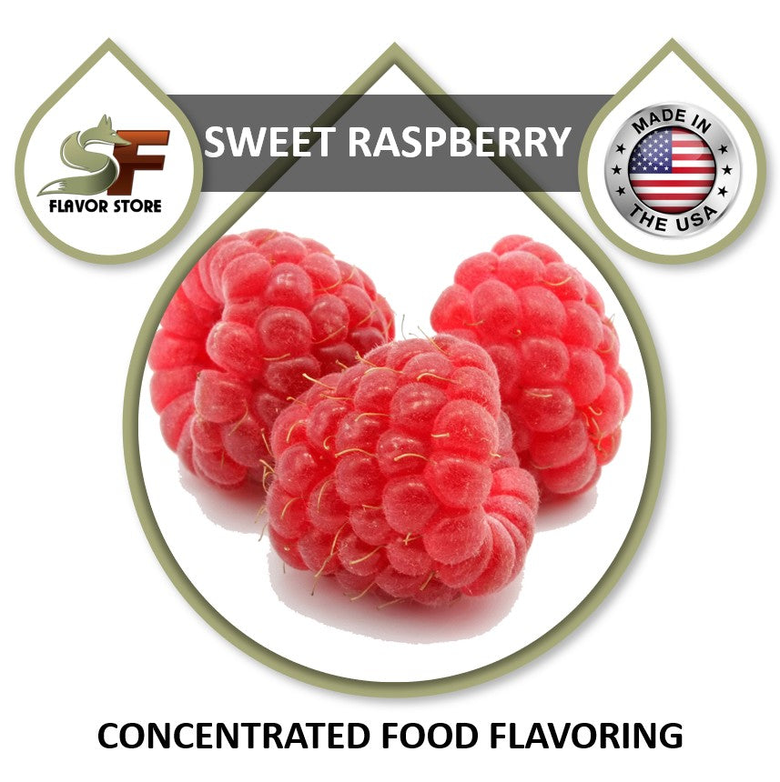 Raspberry (sweet) Flavor Concentrate 1oz