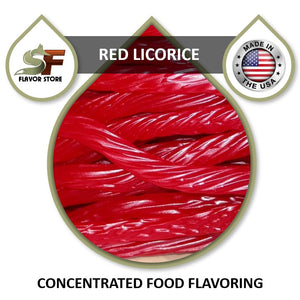 Red Licorice Flavor Concentrate 1oz