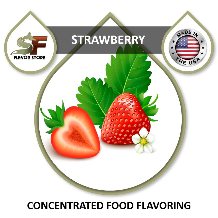 Strawberry Flavor Concentrate 1oz