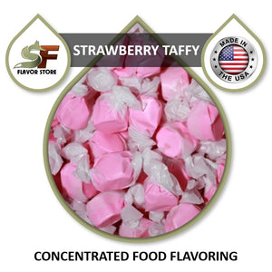 Strawberry Taffy Flavor Concentrate 1oz