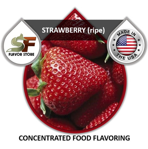 Strawberry (ripe) Flavor Concentrate 1oz