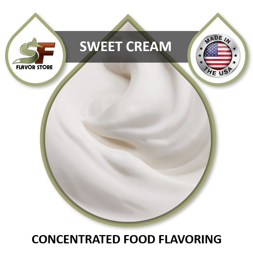 Sweet Cream Flavor Concentrate 1oz