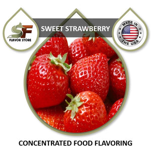 Strawberry (sweet) Flavor Concentrate 1oz