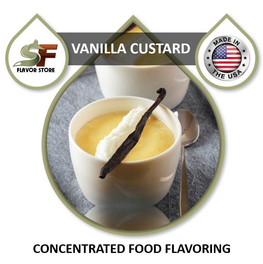 Vanilla Custard Flavor Concentrate 1oz