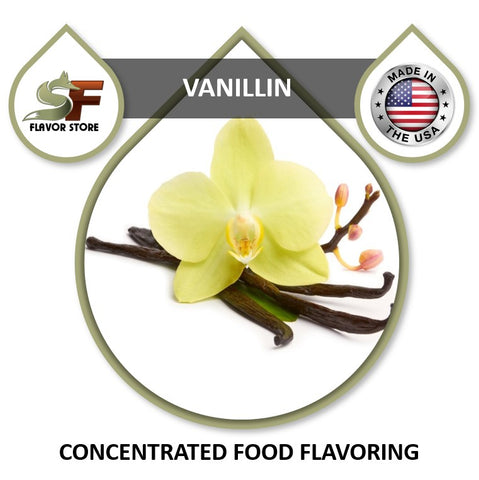 Vanillin Flavor Concentrate 1oz