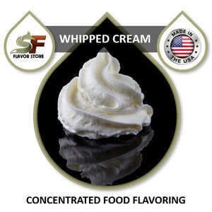 Whipped Cream Flavor Concentrate 1oz