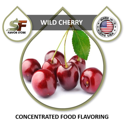 Wild Cherry Flavor Concentrate 1oz