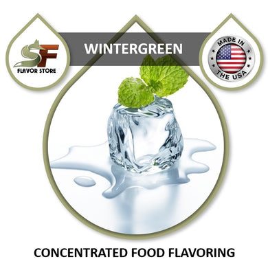 Wintergreen Flavor Concentrate 1oz