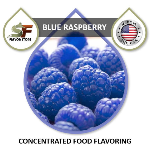 Blue Raspberry Flavor Concentrate 1oz