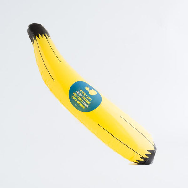 Chew Banana Float (1 metre pool float)