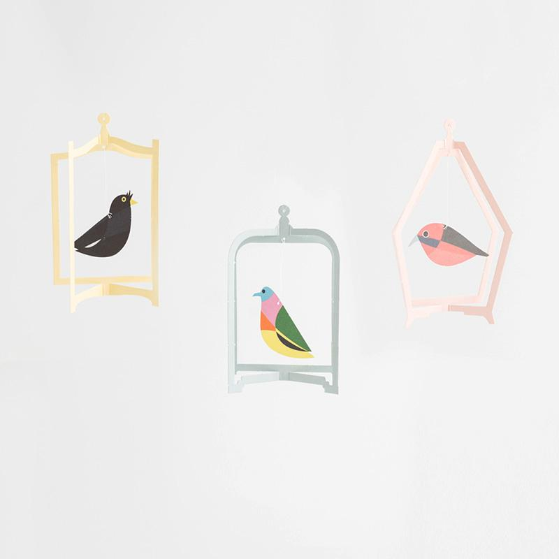 Bird Mobile Card