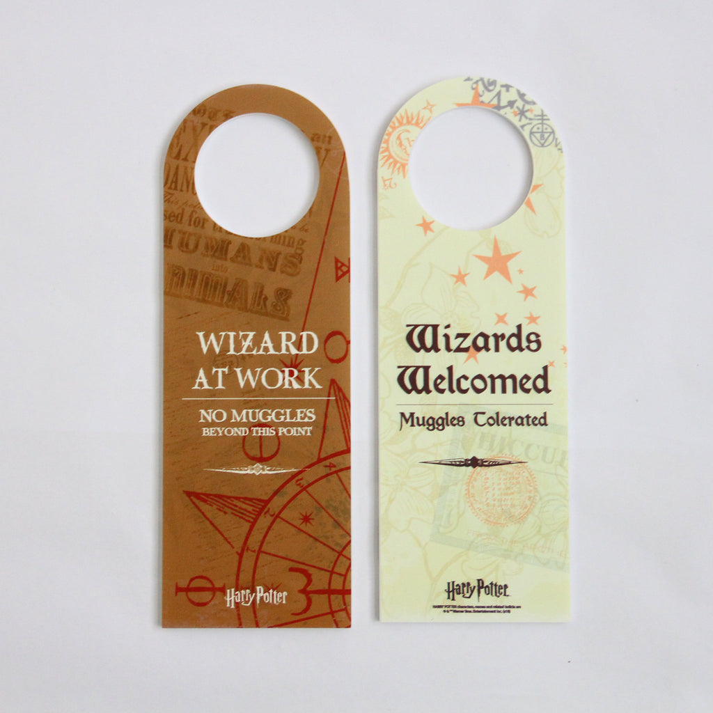 Wizard At Work Door Hanger