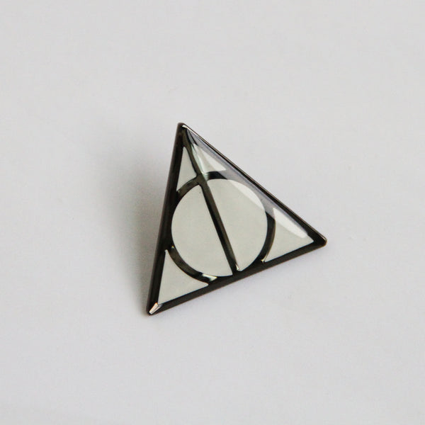 Deathly Hallows Glow Enamel Pin
