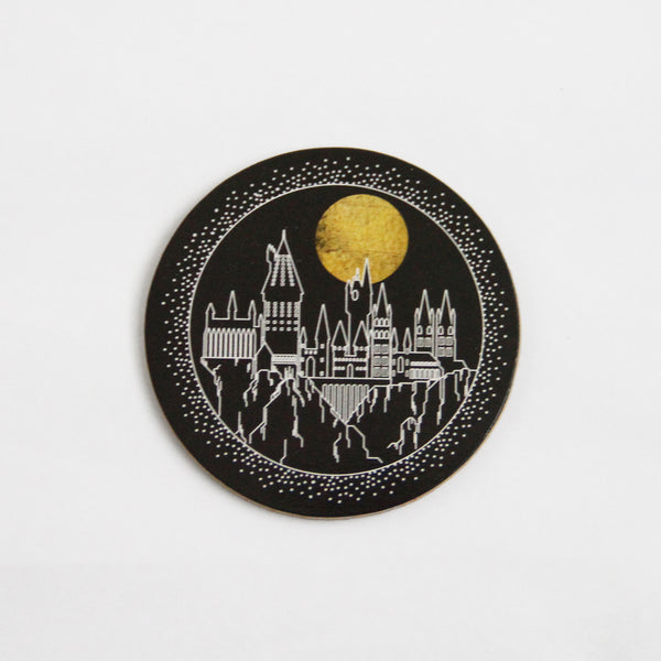 Harry Potter Cork Coaster: Hogwarts Castle