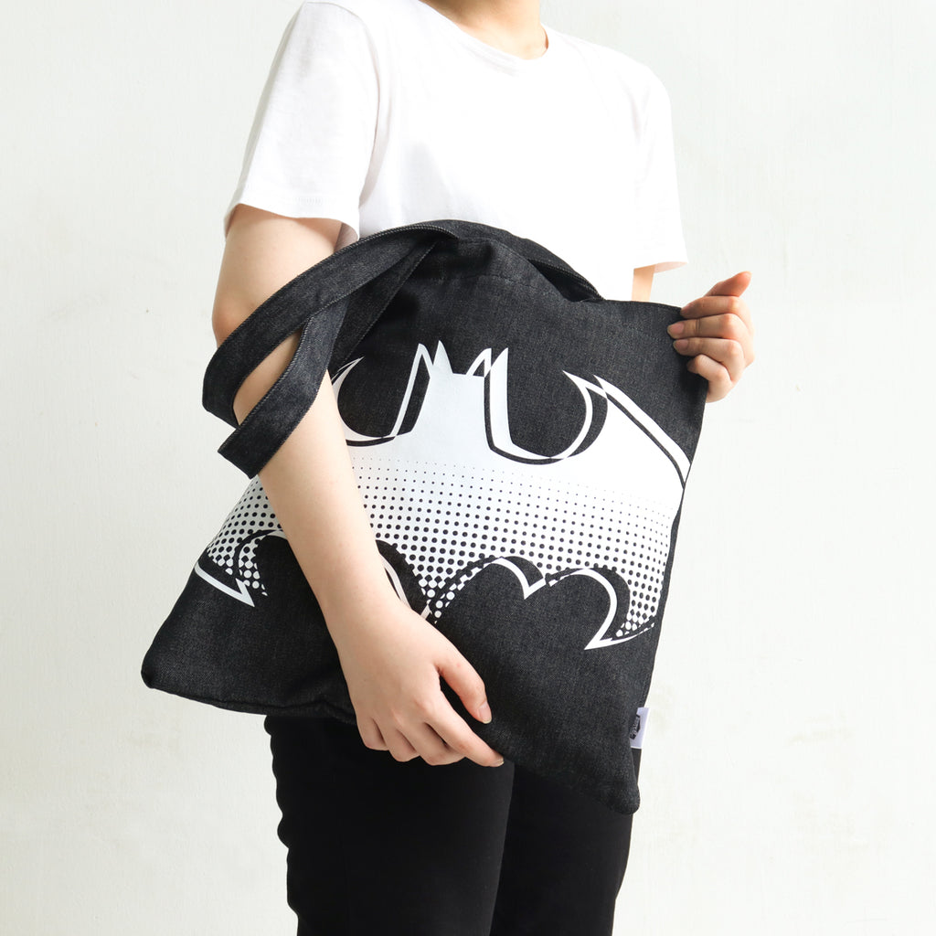 Batman Denim Tote Bag