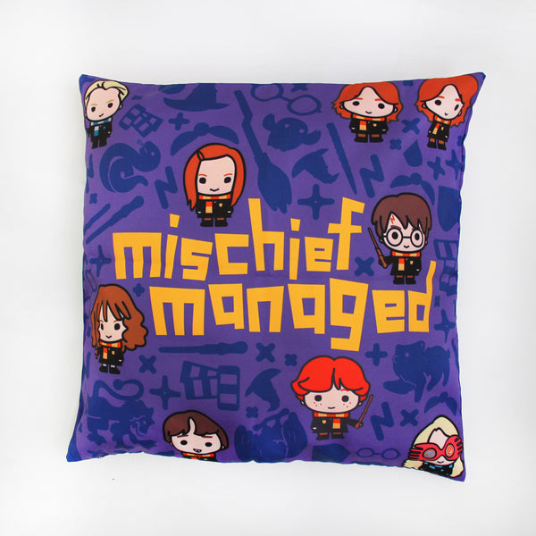 Harry Potter Mischief Managed Cushion Cover