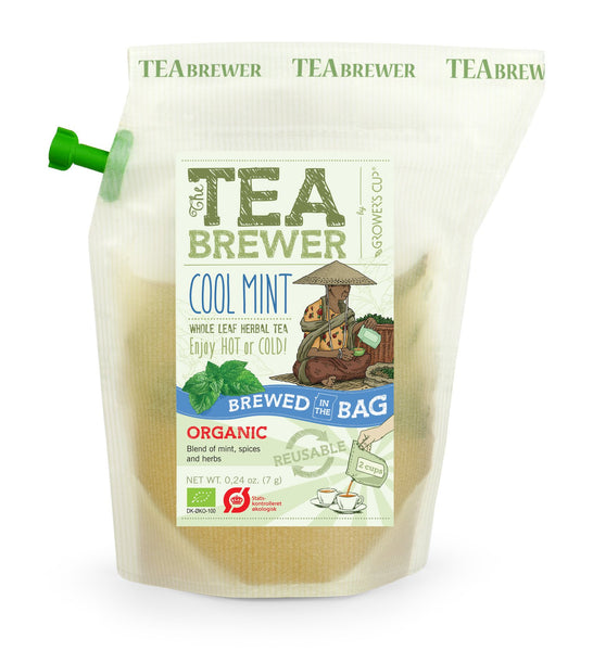 TeaBrewer Cool Mint - Whole Leaf Herbal Tea